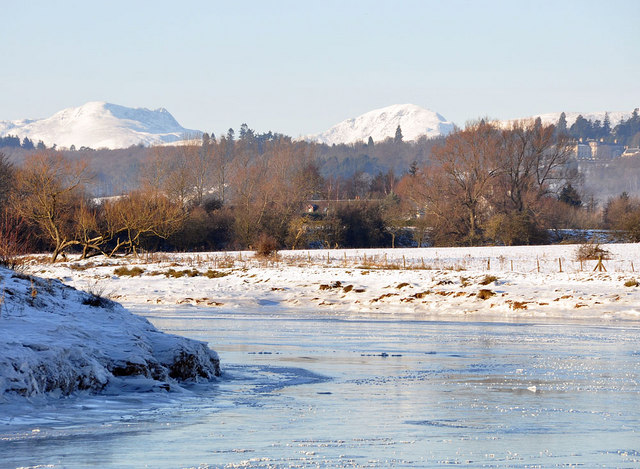 Frozen River Forth