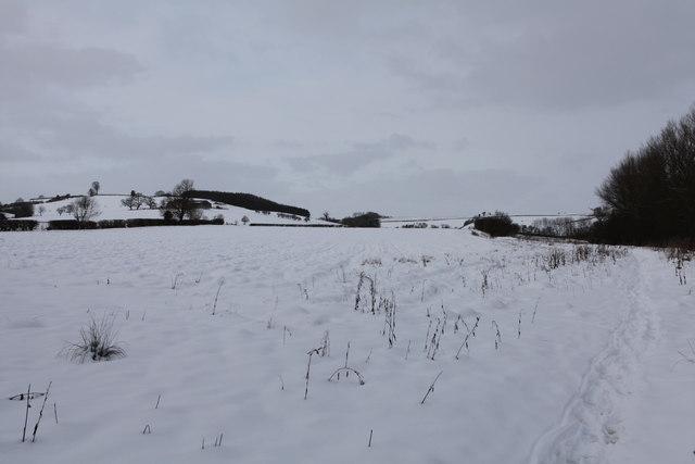 Footpath towards Kirkham beside the River Derwent