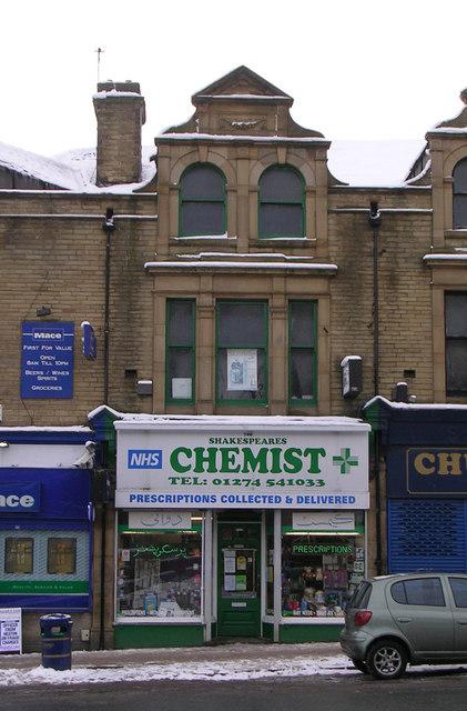 Shakespeares Chemist - Oak Lane
