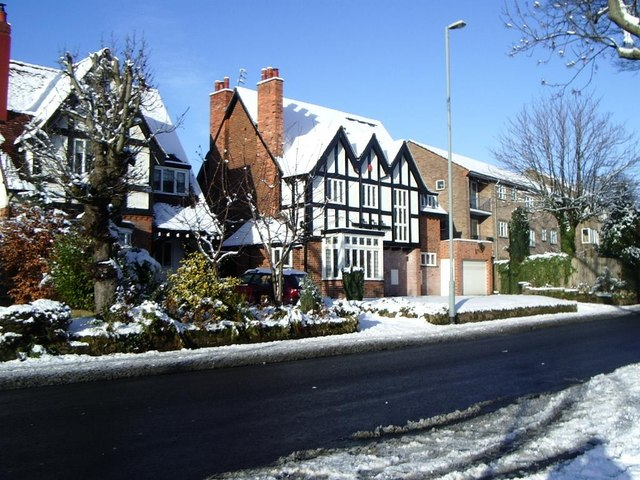Winter's Scene, Orphanage Road, Erdington