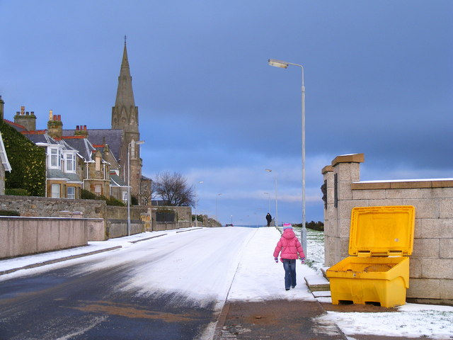 Prospect Terrace at Lossiemouth