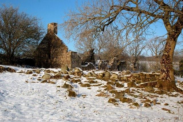Ruin at Drumdow