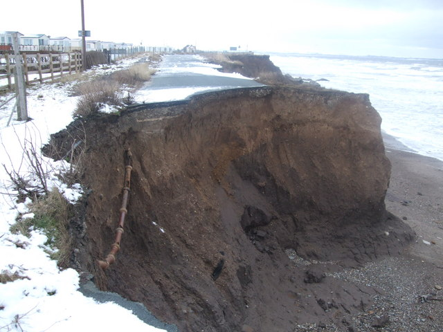 Ulrome erosion situation - 2010