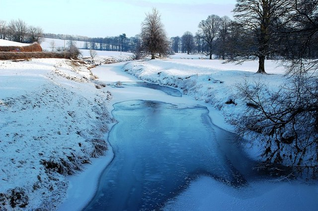 Icy View From Aird Bridge
