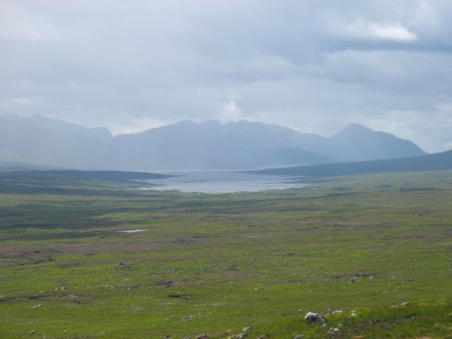The lower slopes of Sron Leachd a'Chaorainn