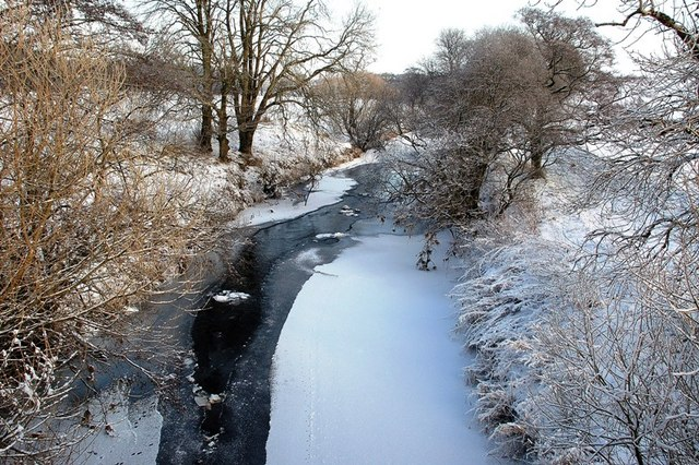 An Icy Water Of Girvan
