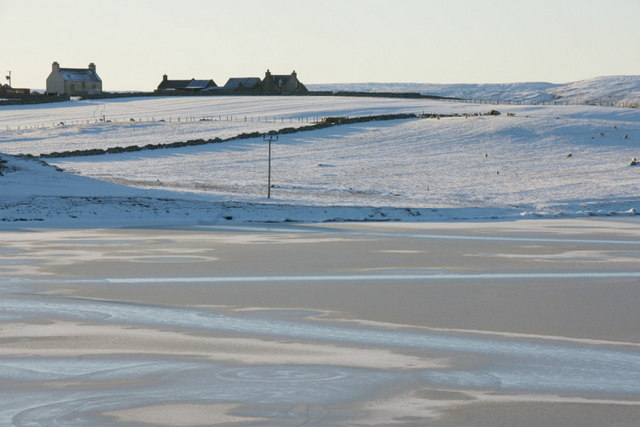 Frozen Loch of Snarravoe