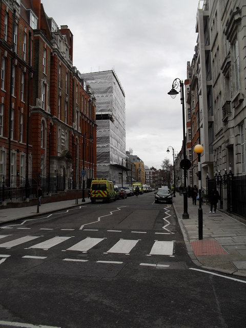 Zebra crossing at the western end of Great Ormond Street