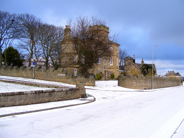 Tower House at Lossiemouth