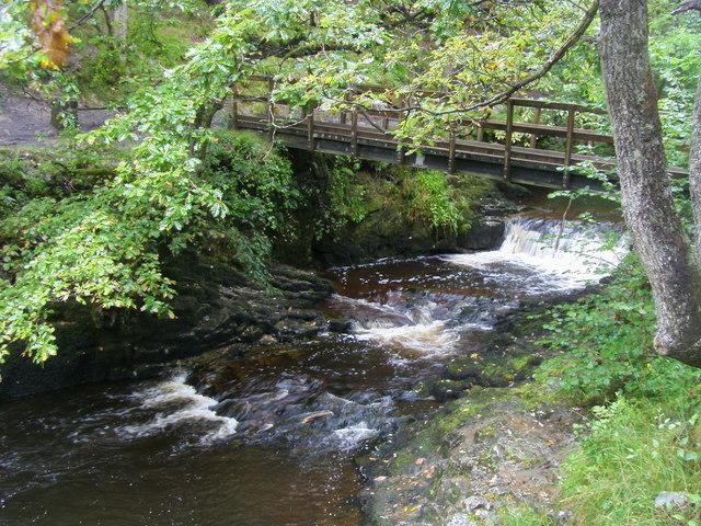 Bridge at Pwll Du ar Byrddin