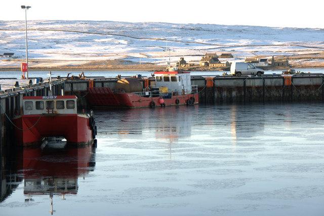 Uyeasound harbour