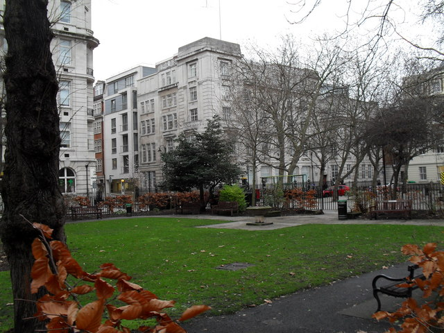 Queen Square on New Year's Eve