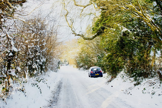 Hilltop Lane, Chaldon, Surrey