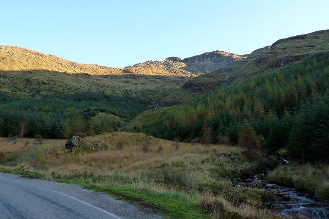 View towards Allt Coire Leitir-Achain