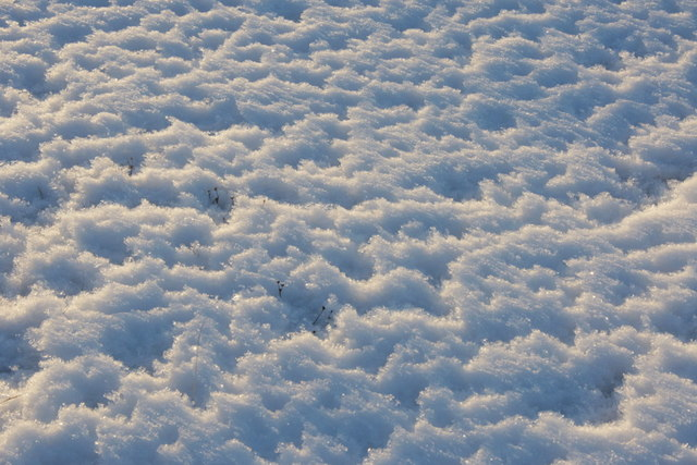 Patterns in the snow, Uyeasound