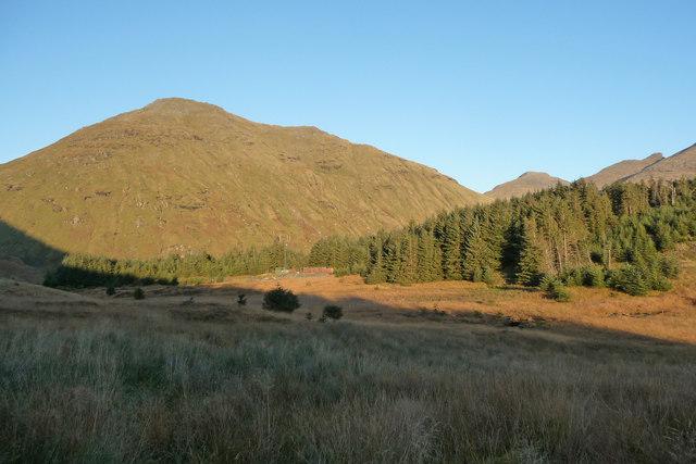 View towards Beinn Luibhean