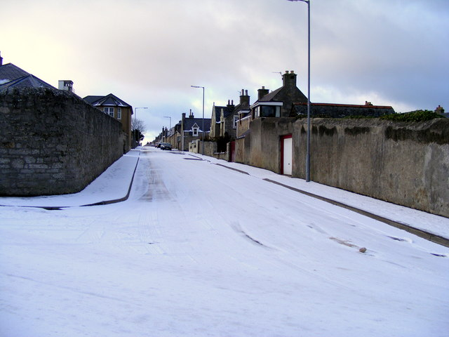 Dunbar Street  at Lossiemouth