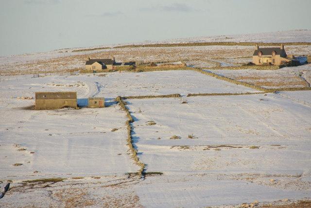 Mailland, Uyeasound, in the snow