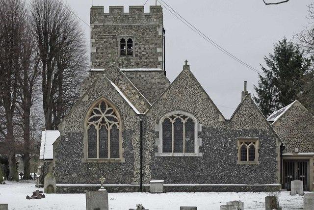 Chilly Churchyard