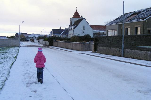 Snow at Prospect Terrace