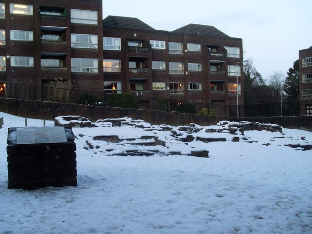 Remains of Roman Bath House, Bearsden