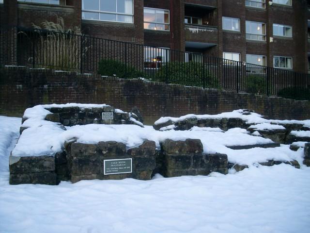 Frigidarium, Bearsden Roman Baths
