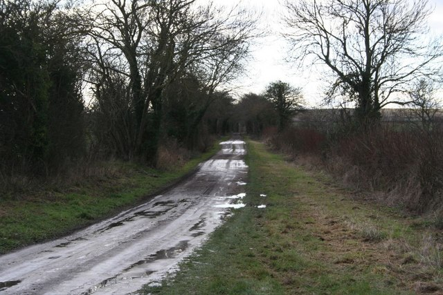 Bridleway to Chilton