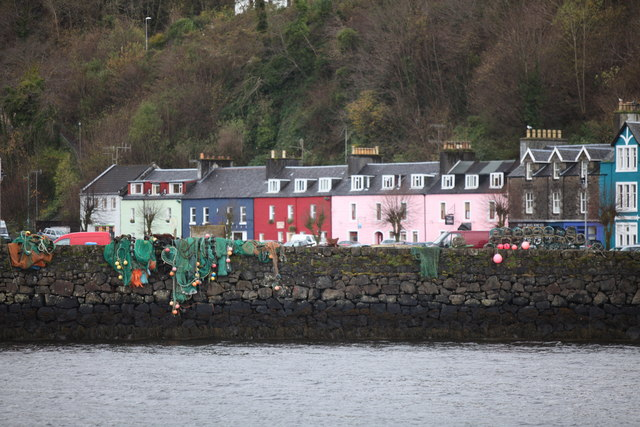 Tobermory Pier and Waterfront