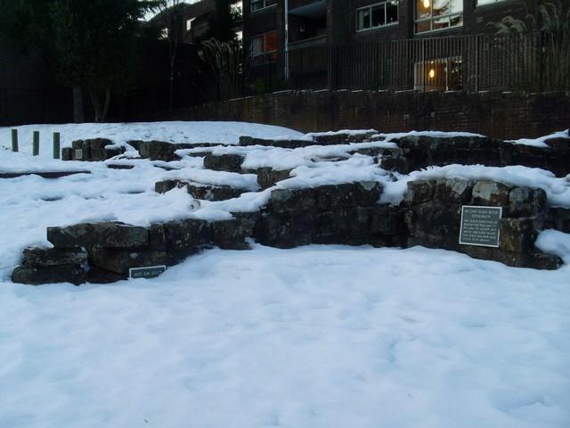 Tepidarium at Bearsden Roman Baths