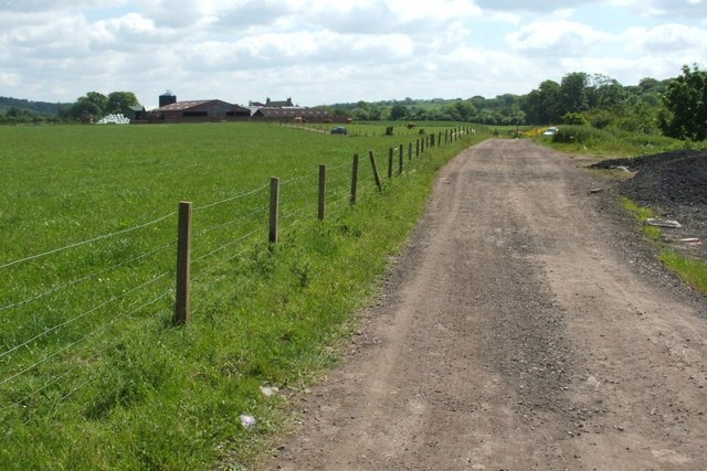 The Clyde Walkway at Upper Carbarns Farm