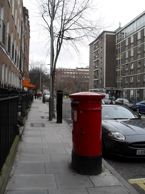 Postbox in Greville Street