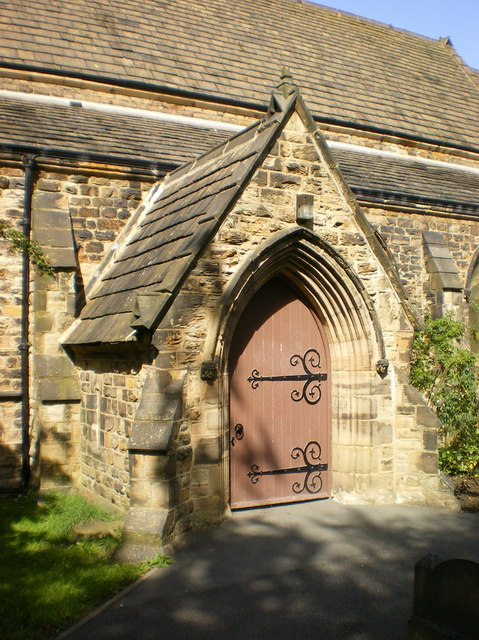 The Parish Church of St Mary the Blessed Virgin, Gomersal, Porch