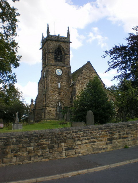 The Parish Church of St Mary the Blessed Virgin, Gomersal