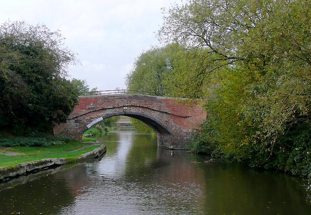 Bridge No 29 near Stretton, Staffordshire