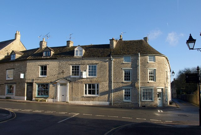 Buildings on Church Street, Tetbury
