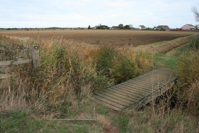 Small footbridge near Horsey Corner