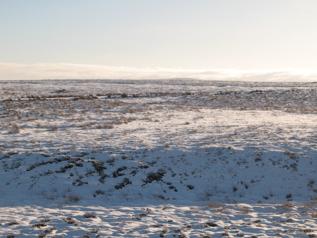 Snowy panorama from the Foumart Hills (1: SE - Crawberry Hill and Watson's Pike)