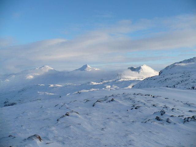 Winter on Beinn na-h-Eaglaise