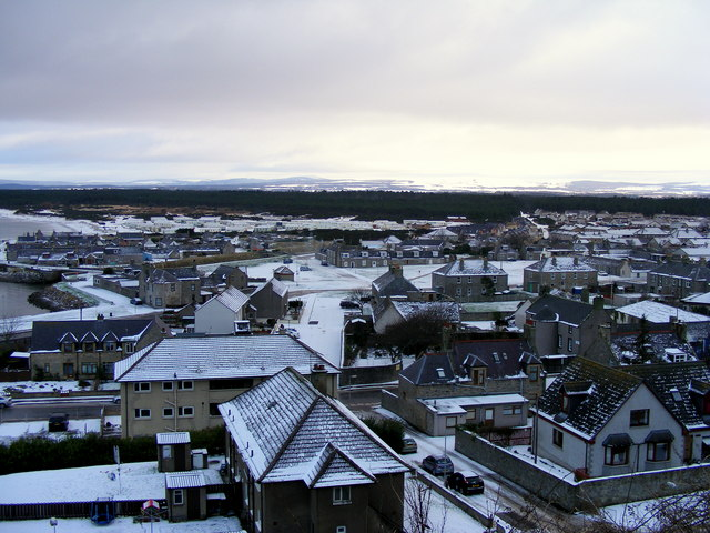 The Winter of  2010 at Lossiemouth