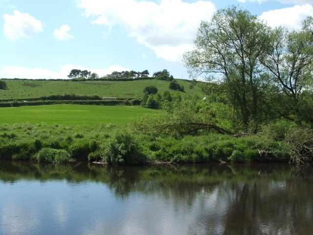 The River Clyde near Upper Carbarns Farm