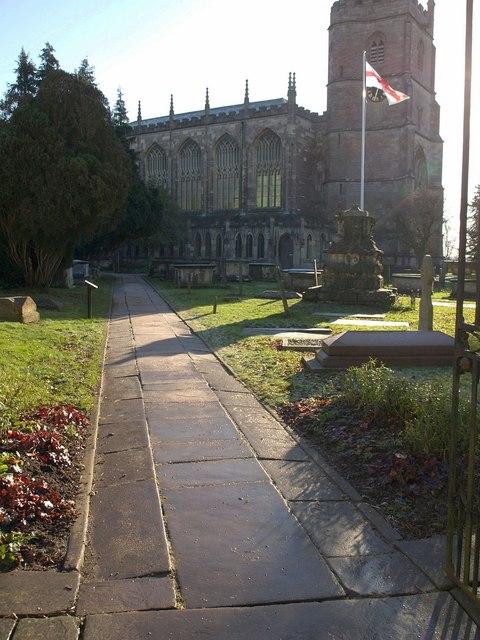 Churchyard, Tetbury
