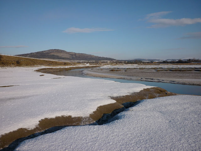 The River Keer and Warton Crag
