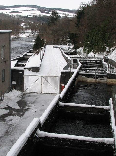 Pitlochry Fish Ladder