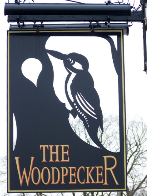 Sign for the Woodpecker