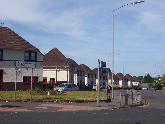 Barrachnie, Church Army houses