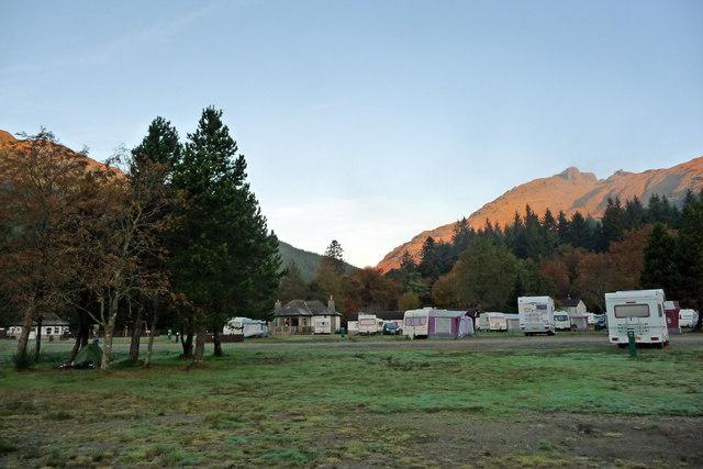 Ardgartan campsite
