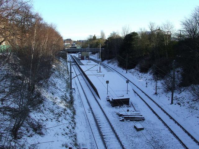 Pollokshields West railway station