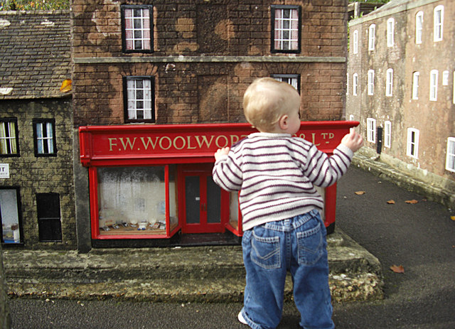 Woolworths sell big boys' toys