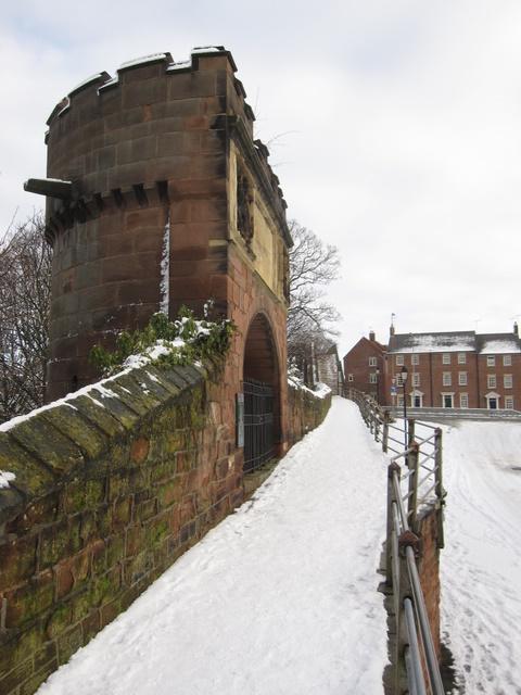 Pemberton's Parlour and the city walls