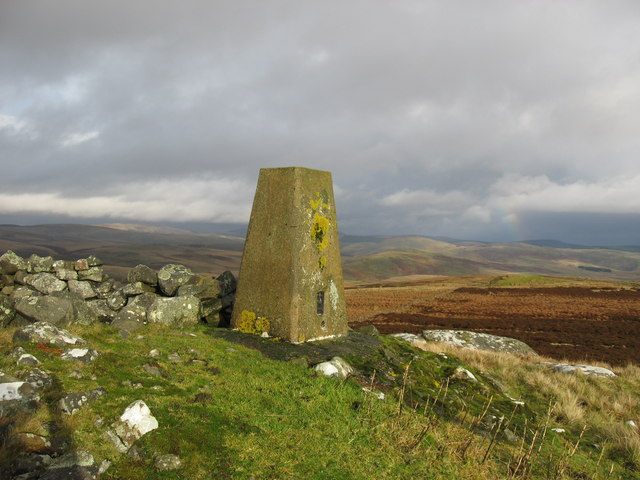 Trig Point at Ridlees Cairn